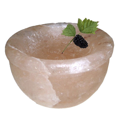 HIMALAYAN SALT ICE CREAM BOWL - 6inch diameter-BTB202