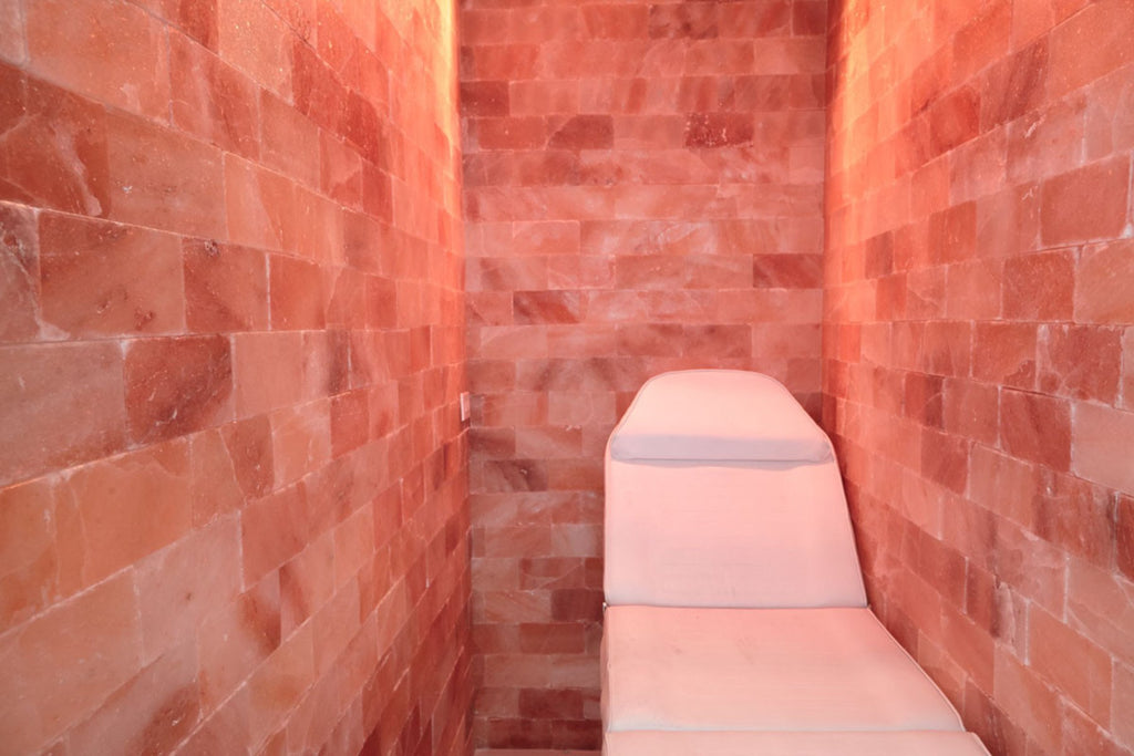 "Himalayan Salt Room 16' x  16' Surface Area - 256 Sq feet - 4""x8""x2"""
