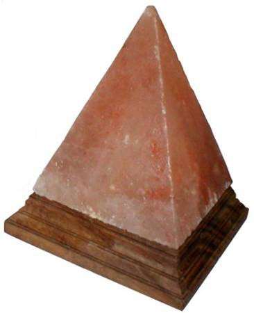 Himalayan Salt Lamp     Pyramid Shape 6""