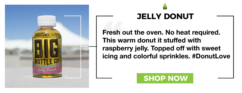 Jelly Donut 120ml Big Bottle Co