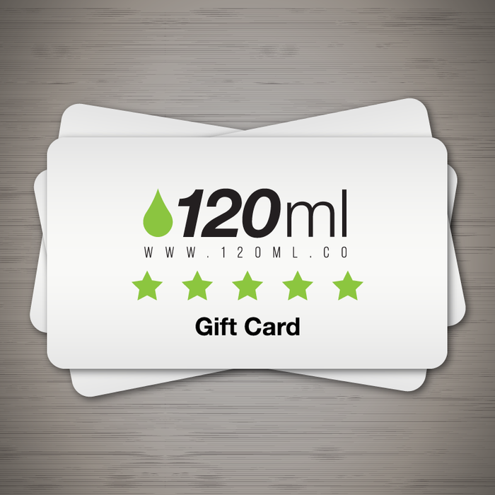 Gift Card (Various Amounts) - The Ultimate Gift! - 120ml.co - Best Premium eJuice and Vapor Product Store