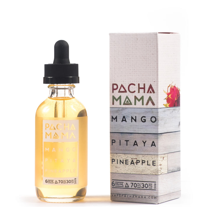 Mango Pitaya Pineapple by Pacha Mama 60ml E-Liquid - 120ml.co - Premium Large Format eJuice and Vapor Products