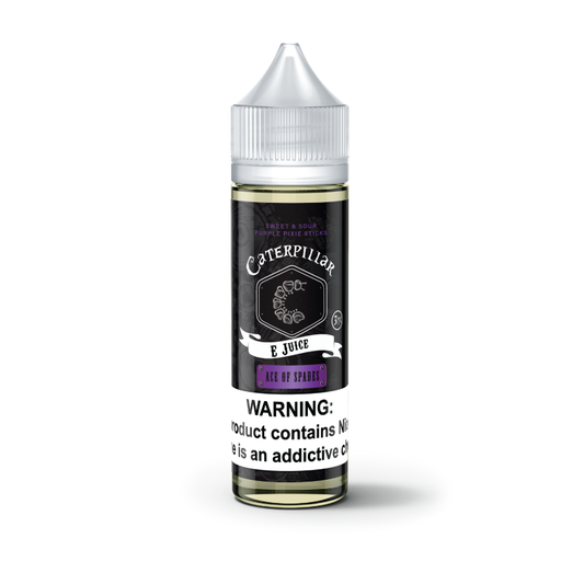Ace of Spades by Caterpillar eJuice 60ml - 120ml.co - Premium Large Format eJuice and Vapor Products