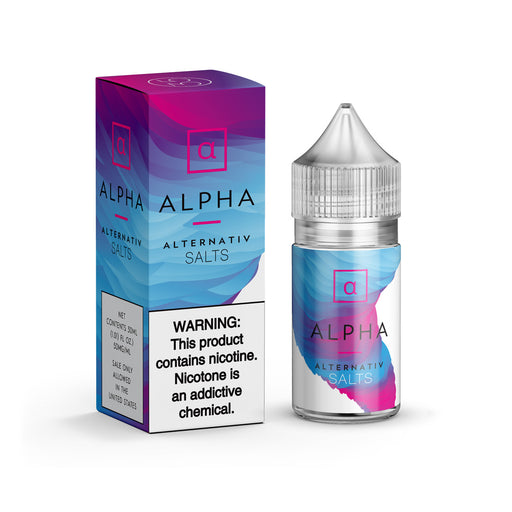 Alpha by Alternativ E-Liquid (Nic Salt) - 120ml.co - Best Premium eJuice and Vapor Product Store