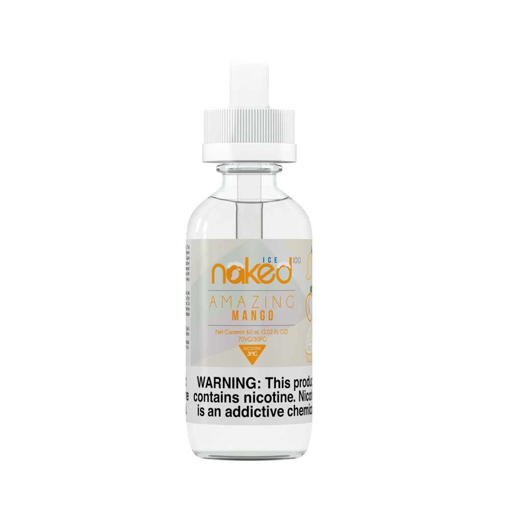 Amazing Mango Ice by Naked 100 E-Liquid 60ml - 120ml.co - Best Premium eJuice and Vapor Product Store