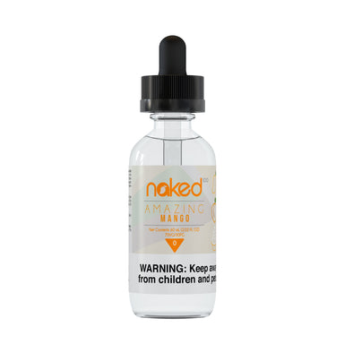 Amazing Mango by Naked 100 E-Liquid 60ml - 120ml.co - Premium Large Format eJuice and Vapor Products