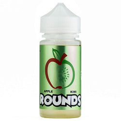 Apple Kiwi Rounds by Rounds E-Liquid 100ml - 120ml.co