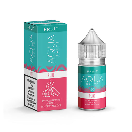 Pure by Aqua Salts (Nic Salt) - 120ml.co - Premium Large Format eJuice and Vapor Products