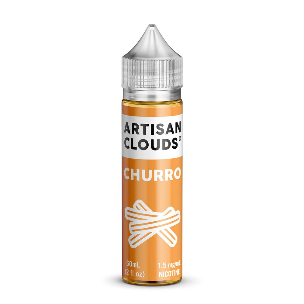 Churro by Artisan Clouds E-Liquid 60ml - 120ml.co - Premium Large Format eJuice and Vapor Products