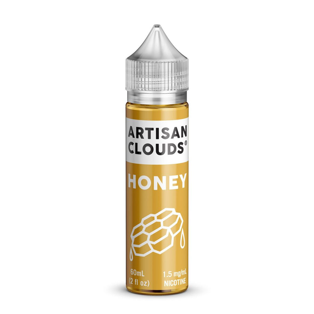 Honey by Artisan Clouds E-Liquid 60ml - 120ml.co - Premium Large Format eJuice and Vapor Products