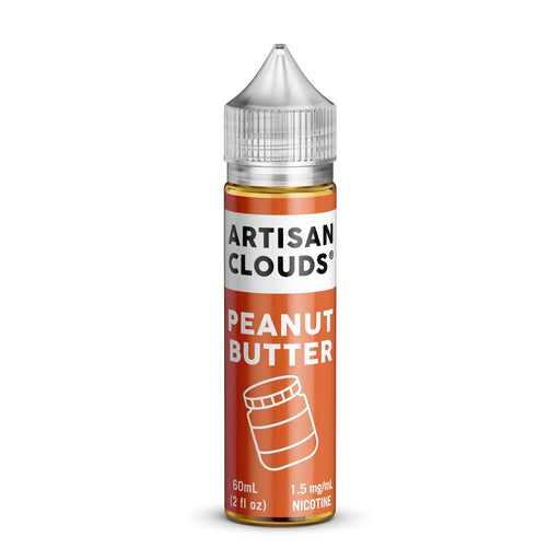 Peanut Butter by Artisan Clouds E-Liquid 60ml - 120ml.co - Premium Large Format eJuice and Vapor Products