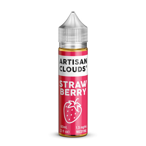 Strawberry by Artisan Clouds E-Liquid 60ml - 120ml.co - Premium Large Format eJuice and Vapor Products