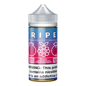 Blue Razzleberry Pomegranate by Vape 100 E-Liquid (Ripe Collection) 100ml - 120ml.co - Premium Large Format eJuice and Vapor Products