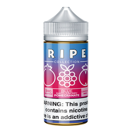 Blue Razzleberry Pomegranate by Vape 100 E-Liquid (Ripe Collection) 100ml - 120ml.co - Best Premium eJuice and Vapor Product Store