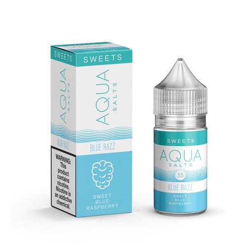 Blue Razz by Aqua Salts (Nic Salt) - 120ml.co - Premium Large Format eJuice and Vapor Products