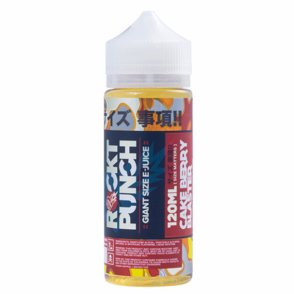 Cake Berry Blaster by Rockt Punch E-Liquid 120ml - 120ml.co - Best Premium eJuice and Vapor Product Store