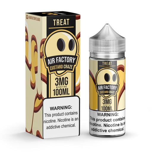 Custard Craze by Treat Factory (Air Factory) E-Liquid 100ml - 120ml.co - Premium Large Format eJuice and Vapor Products