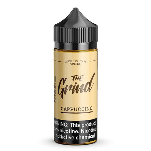 Cappuccino by The Grind eJuice 100ml - 120ml.co - Premium Large Format eJuice and Vapor Products