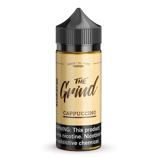Cappuccino by The Grind eJuice 100ml - 120ml.co - Best Premium eJuice and Vapor Product Store