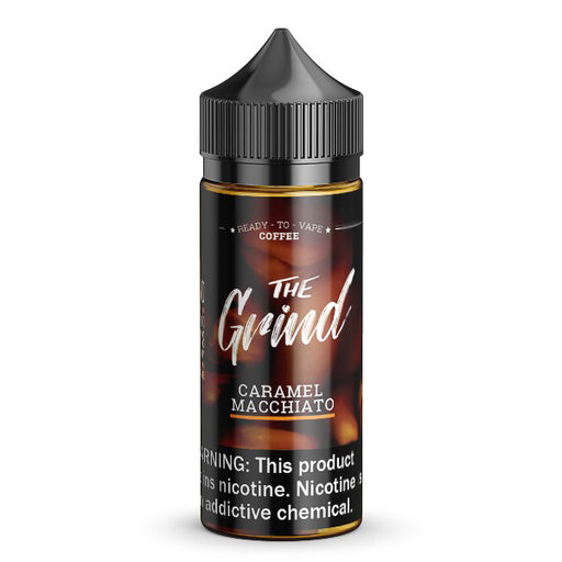 Caramel Macchiato by The Grind eJuice 100ml - 120ml.co - Premium Large Format eJuice and Vapor Products