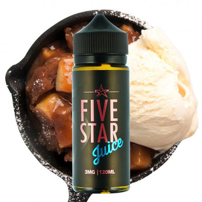 American Pie by Five Star Juice 120ml - 120ml.co - Premium Large Format eJuice and Vapor Products