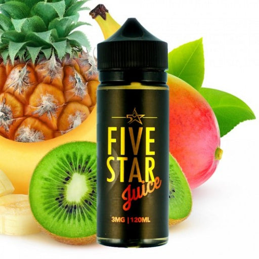 Thunder Flood by Five Star Juice 120ml - 120ml.co - Premium Large Format eJuice and Vapor Products