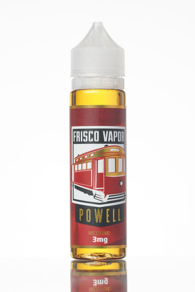 Powell by Frisco Vapor E-Liquid 60-120ml - 120ml.co - Premium Large Format eJuice and Vapor Products