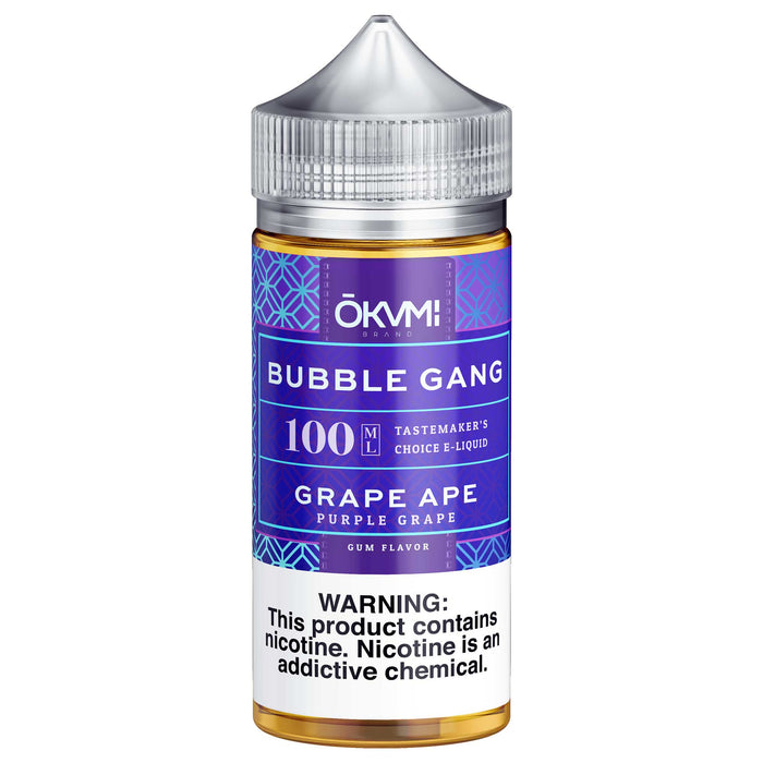 Grape Ape by Bubble Gang E-Liquid 100ml - 120ml.co - Premium Large Format eJuice and Vapor Products