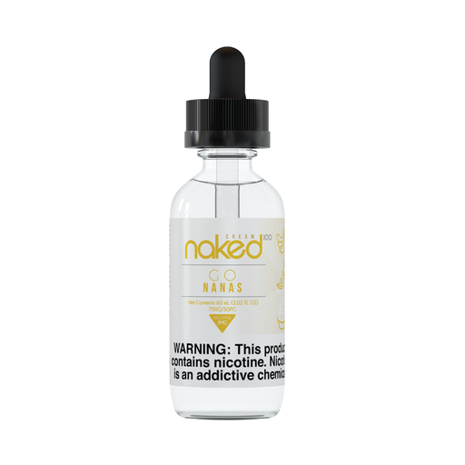 Go Nanas by Naked 100 Cream E-Liquid 60ml - 120ml.co - Best Premium eJuice and Vapor Product Store