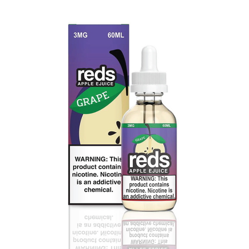 Reds Grape E-Juice by 7 Daze Vape 60ml - 120ml.co - Best Premium eJuice and Vapor Product Store