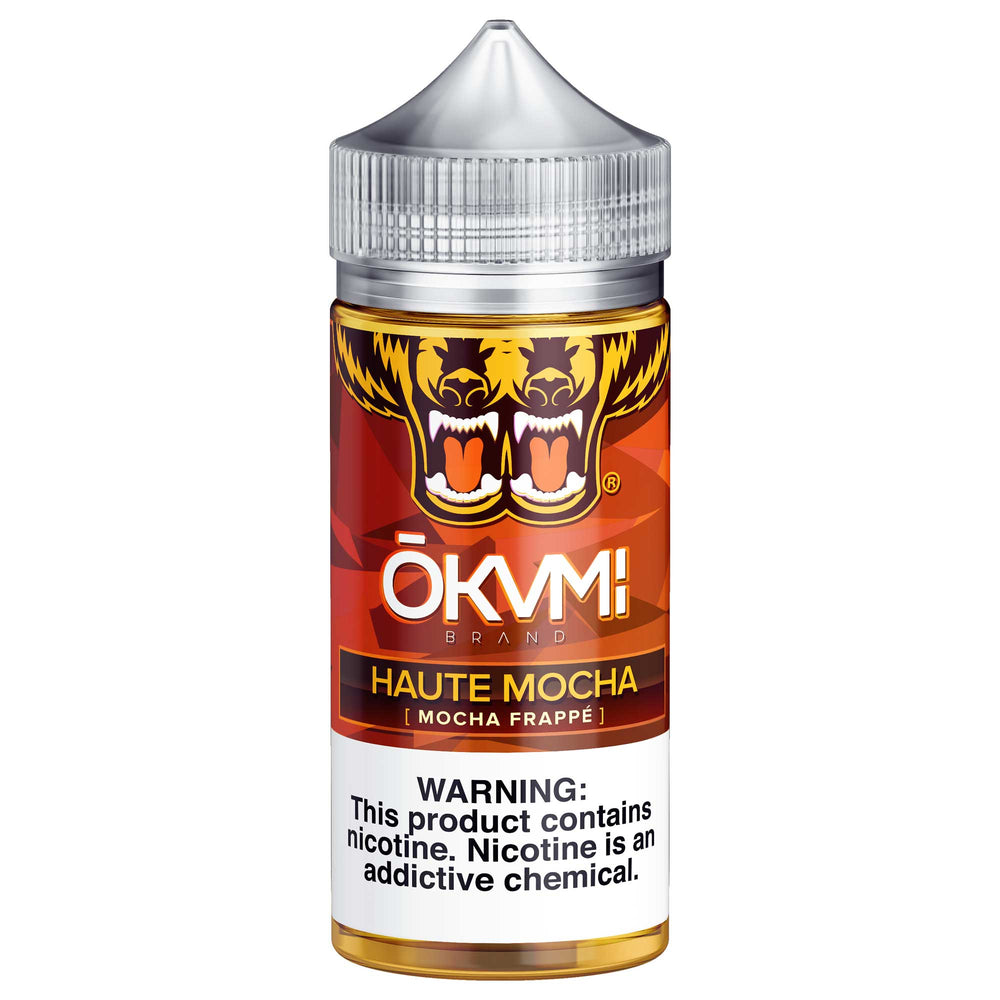 Haute Mocha by Okami E-Liquid 100ml - 120ml.co - Premium Large Format eJuice and Vapor Products