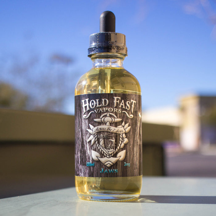Jaws by Hold Fast Vapors E-Liquid 120ml - 120ml.co - Best Premium eJuice and Vapor Product Store