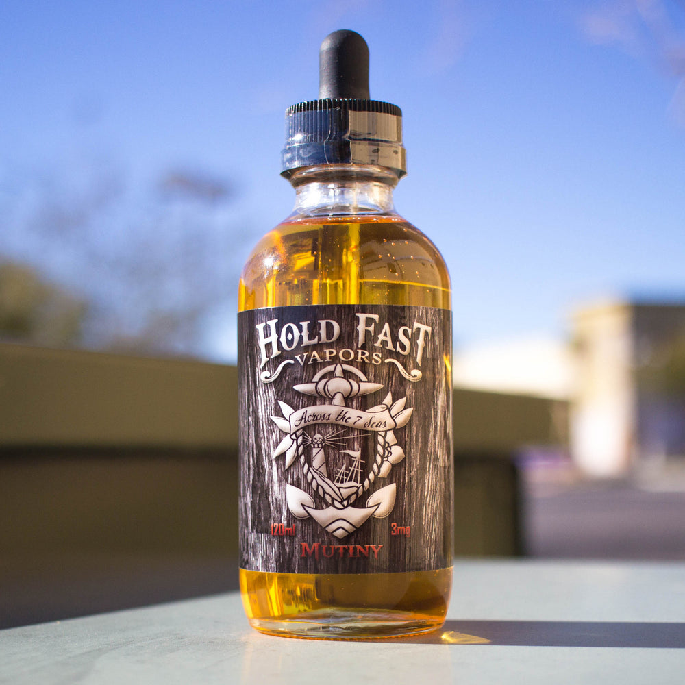 Mutiny by Hold Fast Vapors E-Liquid 120ml - 120ml.co - Best Premium eJuice and Vapor Product Store