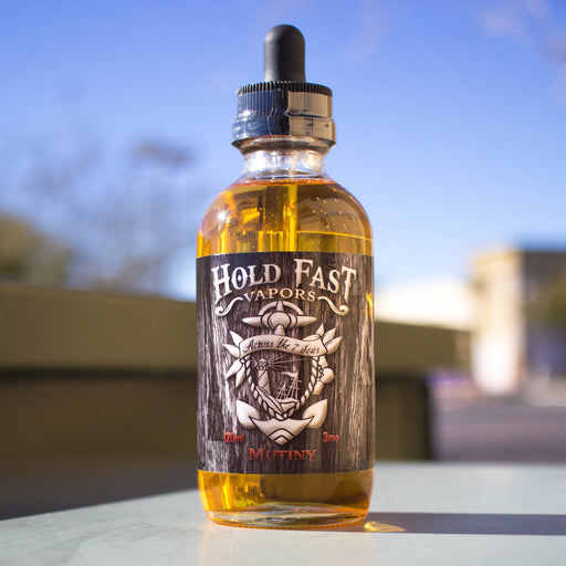 Mutiny by Hold Fast Vapors E-Liquid 120ml - 120ml.co - Premium Large Format eJuice and Vapor Products
