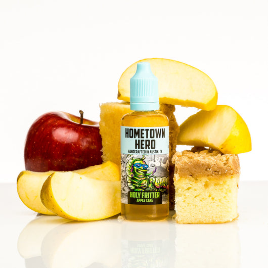 Holy Fritter by Hometown Hero Vapor 50ml (NEW) - 120ml.co - Premium Large Format eJuice and Vapor Products