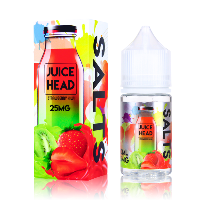 Strawberry Kiwi by Juice Head E-Liquid (Nic Salt) - 120ml.co - Premium Large Format eJuice and Vapor Products