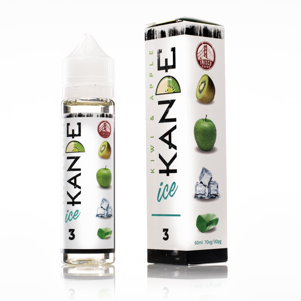 KANDE ICE by Frisco Vapor E-Liquid 60ml - 120ml.co - Premium Large Format eJuice and Vapor Products