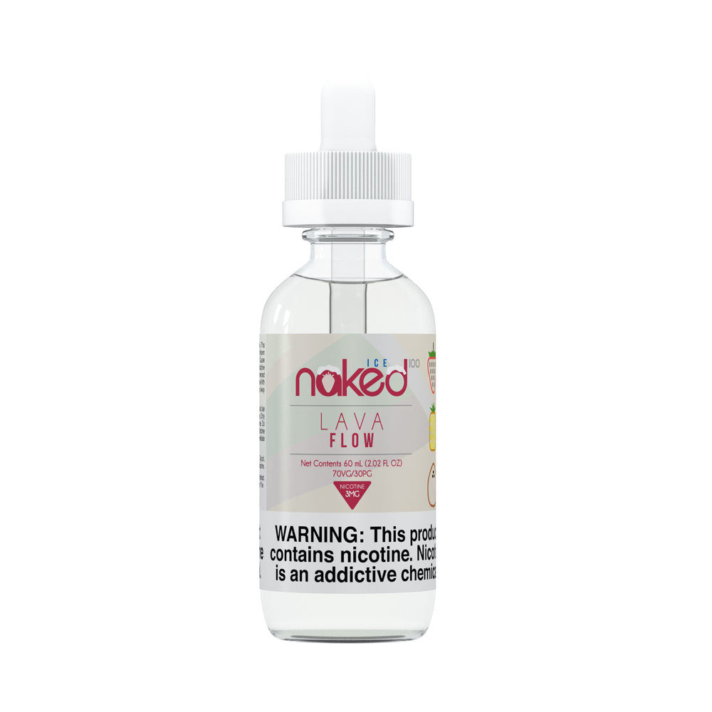 Lava Flow Ice by Naked 100 E-Liquid 60ml - 120ml.co - Best Premium eJuice and Vapor Product Store
