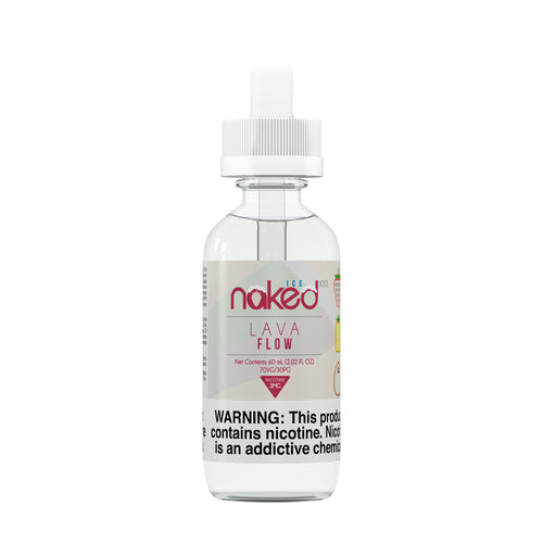 Lava Flow Ice by Naked 100 E-Liquid 60ml - 120ml.co - Premium Large Format eJuice and Vapor Products