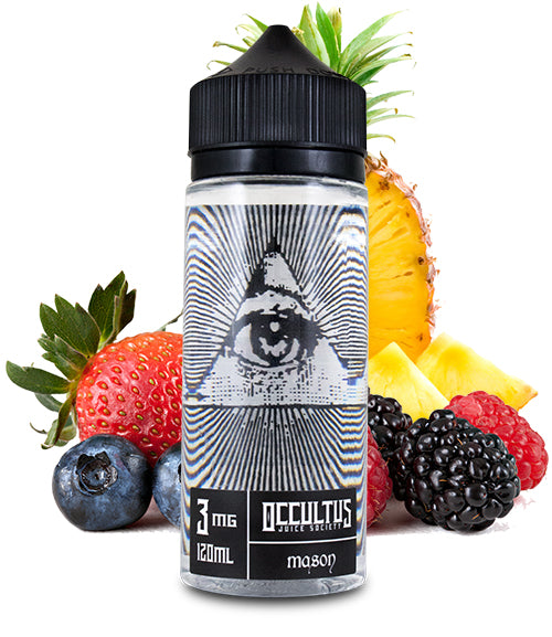 Mason by Occultus Juice Society E-Liquid 120ml - 120ml.co - Best Premium eJuice and Vapor Product Store