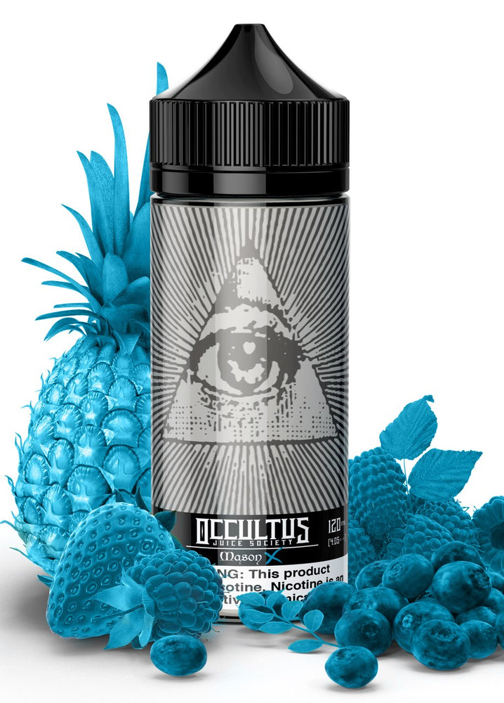 Mason X (Menthol) by Occultus Juice Society E-Liquid 120ml - 120ml.co - Best Premium eJuice and Vapor Product Store