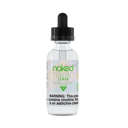 Green Lemon by Naked 100 (Fusion) E-Liquid 60ml - 120ml.co - Premium Large Format eJuice and Vapor Products