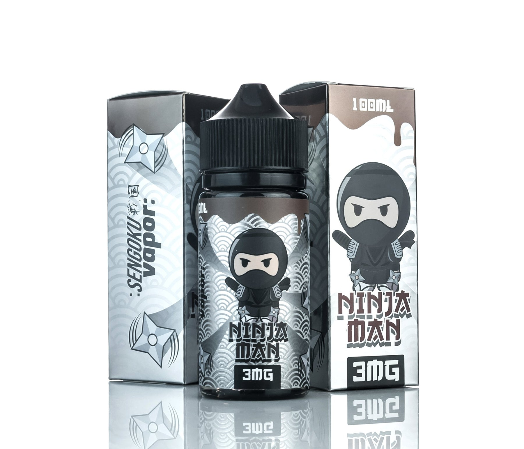 Ninja Man by Sengoku Vapor E-Liquid 100ml - 120ml.co - Best Premium eJuice and Vapor Product Store