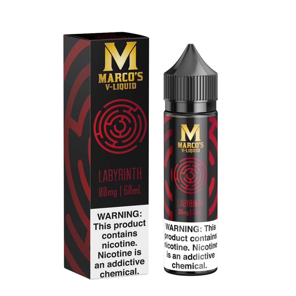Labyrinth by Marco's V-Liquid 60ml - 120ml.co - Best Premium eJuice and Vapor Product Store