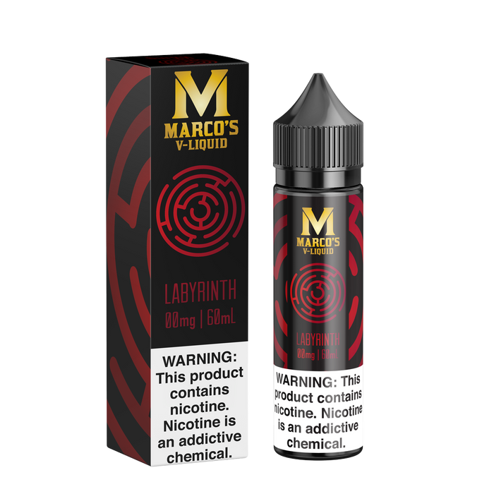 Labyrinth by Marco's V-Liquid 60ml - 120ml.co - Premium Large Format eJuice and Vapor Products