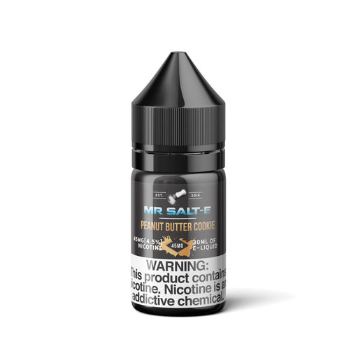 Peanut Butter Cookie by Mr. Salt E (Nic Salt) - 120ml.co - Best Premium eJuice and Vapor Product Store