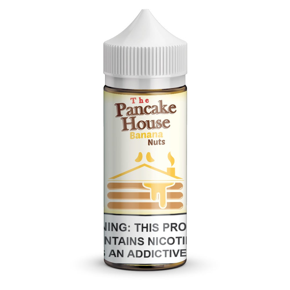 Banana Nuts by The Pancake House eJuice 100ml - 120ml.co - Best Premium eJuice and Vapor Product Store