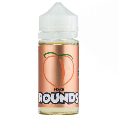 Peach Rounds by Rounds E-Liquid 100ml - 120ml.co