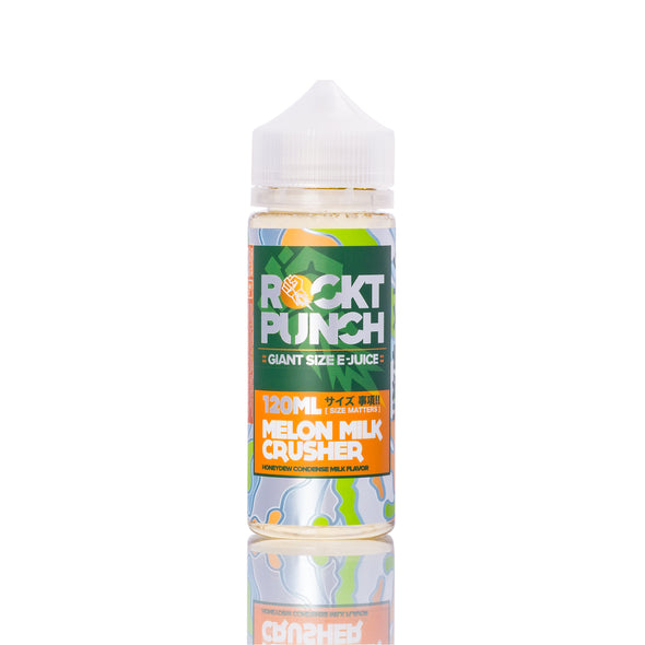 Melon Milk Crusher by Rockt Punch E-Liquid 120ml - 120ml.co - Premium Large Format eJuice and Vapor Products