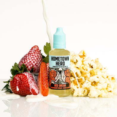 Red Dream by Hometown Hero Vapor 50ml - 100ml - 120ml.co - Premium Large Format eJuice and Vapor Products